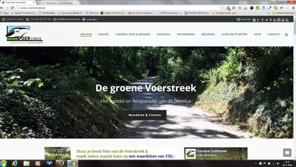 Website over de Voerstreek in België